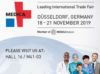 KroniKare Exhibition at MEDICA @ Fair ground Düsseldorf Germany from 18 – 21 November 2019