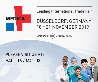 KroniKare Exhibition at MEDICA @ Fair ground Düsseldorf Germany from 18 – 21 November 2019