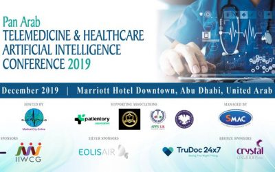 Pan Arab Telemedicine & Healthcare Artificial Intelligence Conference 2019 on 7th – 8th December 2019 @Marriott Hotel Downtown, Abu Dhabi, UAE