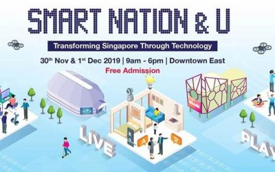 Smart Nation & U Exhibition from 30th November 2019 to 1st December 2019, 9 am – 6 pm @ D'Marquee, Downtown East (Free Admission)