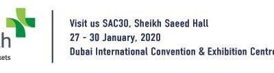 Arab Health Exhibition 27 – 30 January 2020 @Dubai World Trade Centre, SAC30 Sheikh Saeed Hall, Booth PZ.J12, Start-Up Zone