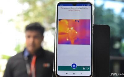 AI-driven system that speeds up temperature screening piloted at 2 locations